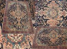 Unusual Fine Ferahan Sarouk Rug