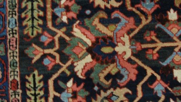 Unusual Heriz Carpet Sale Stdibs