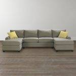 Upholstered Double Chairse Sectional
