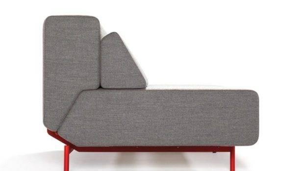 Upholstered Fabric Sofa Bed Pil Low Prostoria Ltd