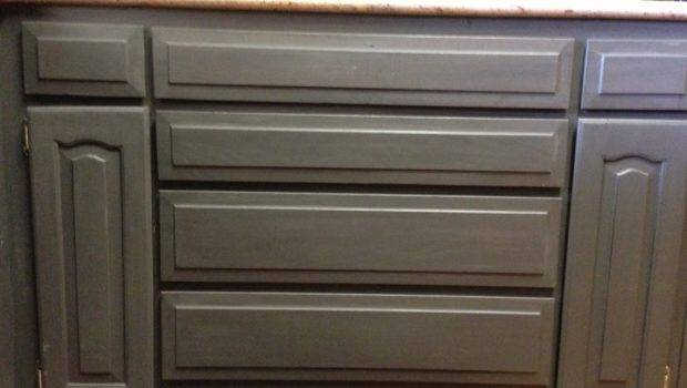 Using Chalk Paint Refinish Kitchen Cabinets Wilker