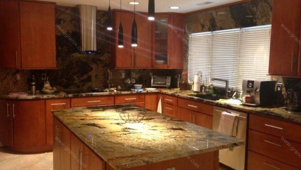 Val Desert Dream Granite Kitchen Countertop Island Table