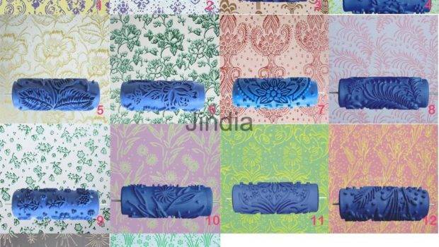 Various Pattern Embossing Paint Roller Painting