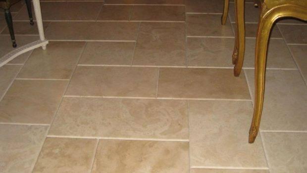 Vein Cut Flooring Tiles Travertine Floor Filled Honed