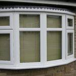Venetian Blinds Gives Light Privacy Bay Window