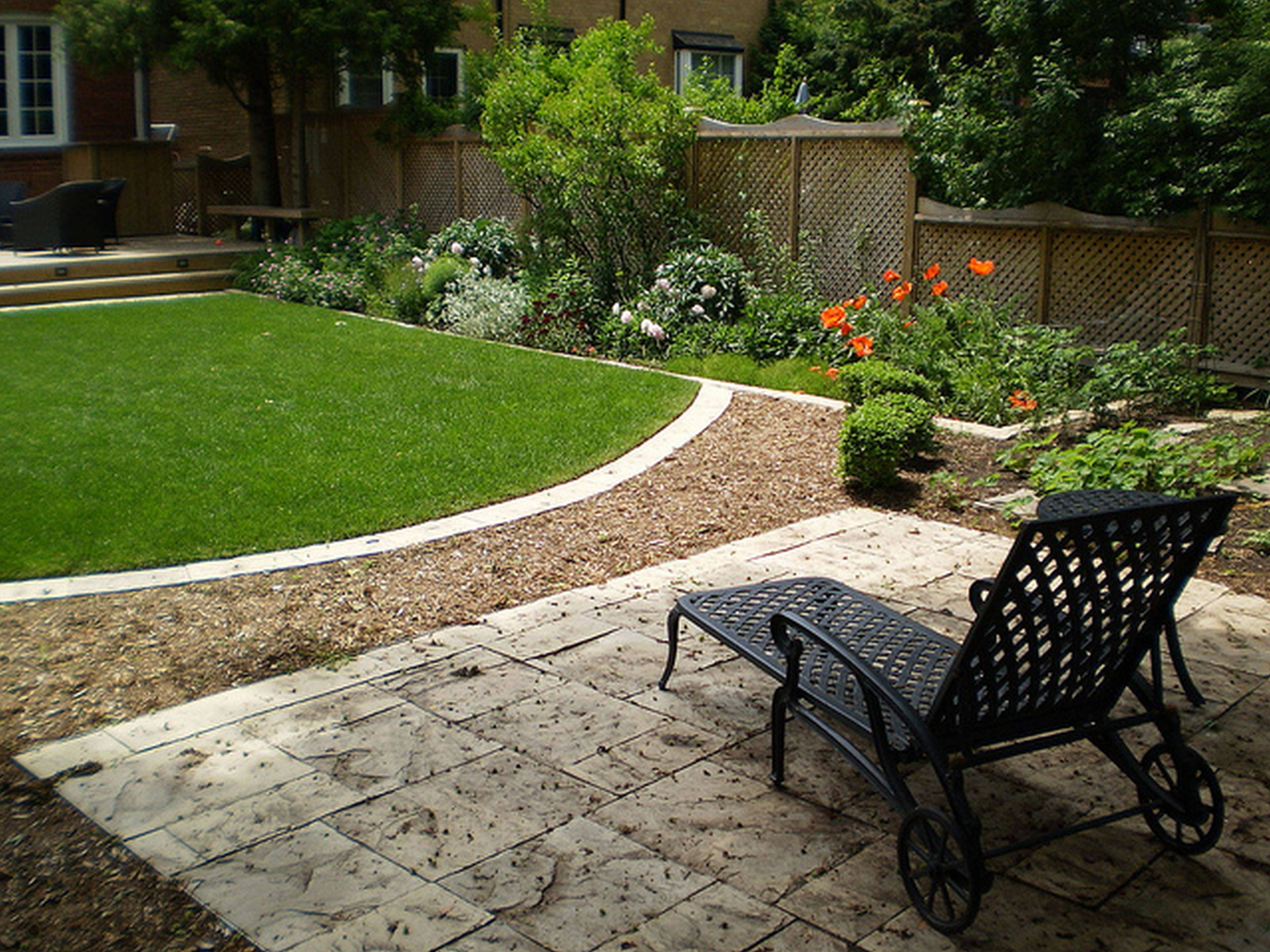 Very Small Yard Landscaping Ideas Saomc - Cute Homes | #104955