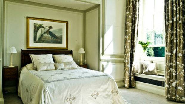 Victorian Green Bedroom Design Ideas Remodels Photos