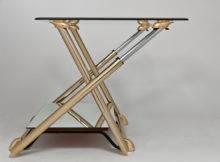 Vintage Adjustable Height Coffee Table Stdibs