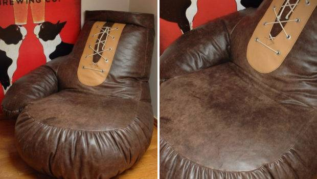 Vintage Boxing Glove Bean Bag Chair Hiconsumption