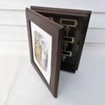 Vintage Secret Box Wood Key Holder Wall Mounted