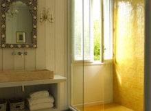 Vintage Yellow Bathroom Tile Ideas