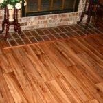 Vinyl Installation Looks Like Wood Floor Step Flooring