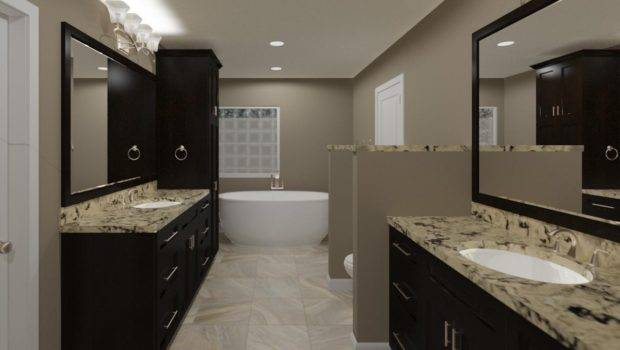 Virtual Bathroom Remodeling Design Renderings