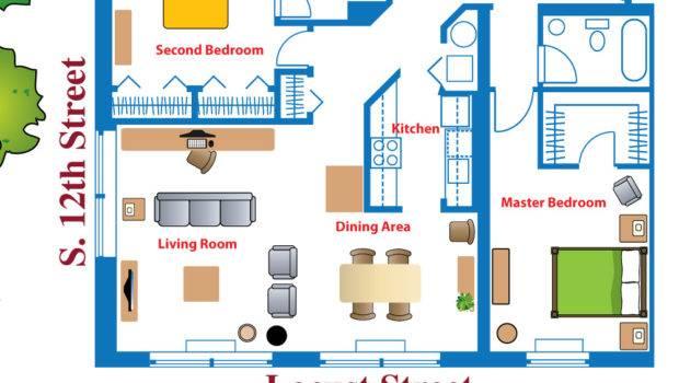 Virtual Floor Plan South Building Apartment