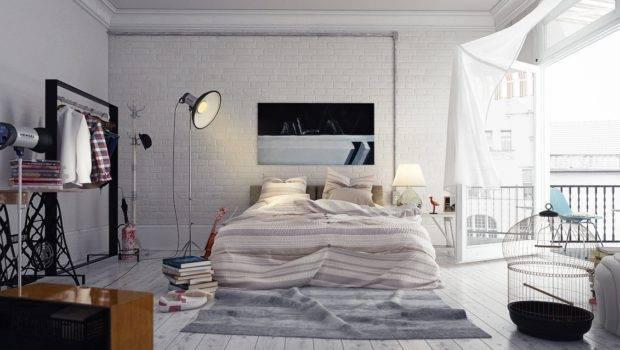 Visualizer Via Serdal Ertas Loft Style Bedroom Perfect
