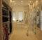 Walk Closet Design Narrow Room White Scemed Best Lighting