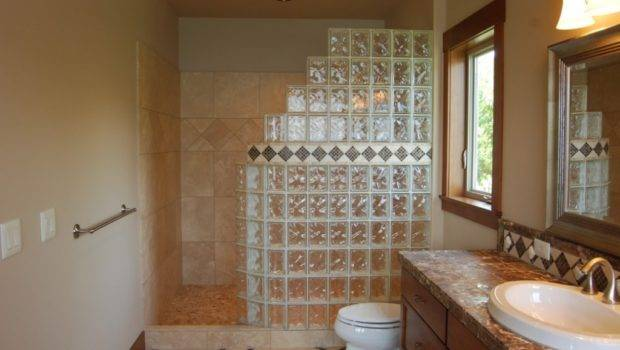 Walk Shower Designs Small Bathrooms Well