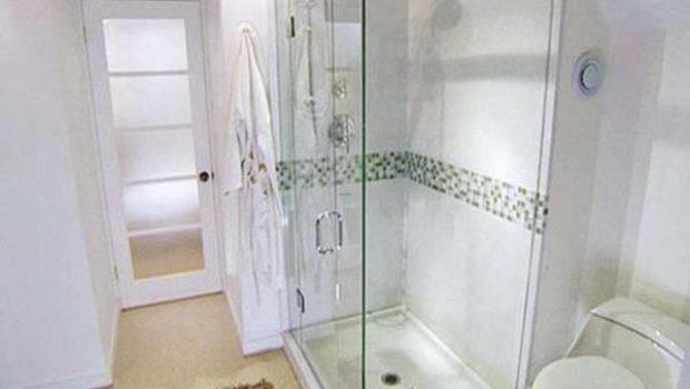 Walk Showers Designs Small Bathrooms Interior