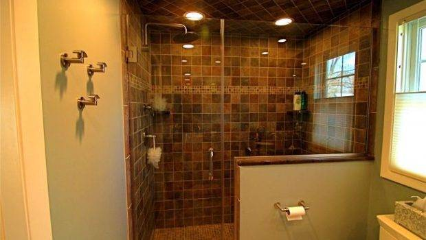 Walk Showers Small Bathrooms Your Ideas