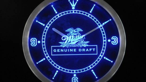 Wall Clock Promotion Shopping Promotional Miller