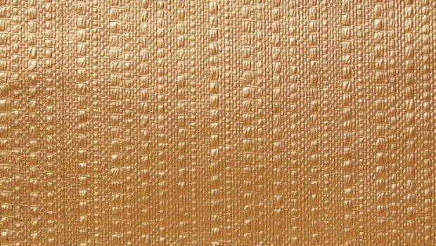 Wall Covering Plastic Backsplash Basketweave Gold