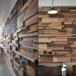 Wall Interiors Design Treatments Reclaimed Wood Wooden
