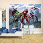 Wall Marvel Avengers Assemble Giant Mural Comic