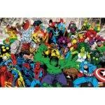 Wall Marvel Avengers Hulk Ironman Mural