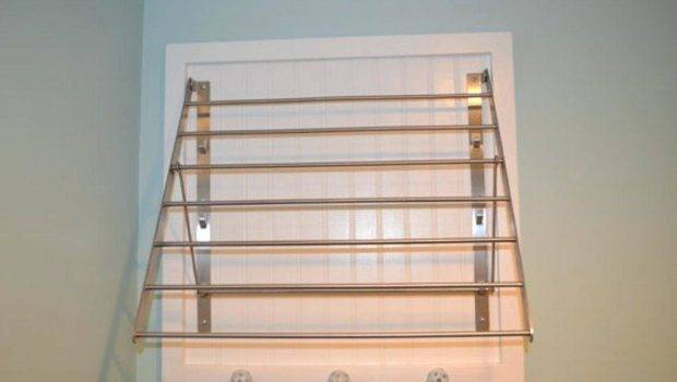 Wall Mounted Fold Down Drying Rack Most Best