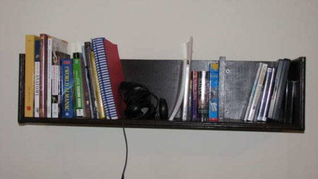 Wall Mounted Shelves Build Bookshelves Less
