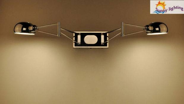 Wall Sconce Bedroom Lamps Swing Arm Bedside Lights Reading