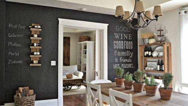 Wanted Chalkboard Wall Our Home Forever But