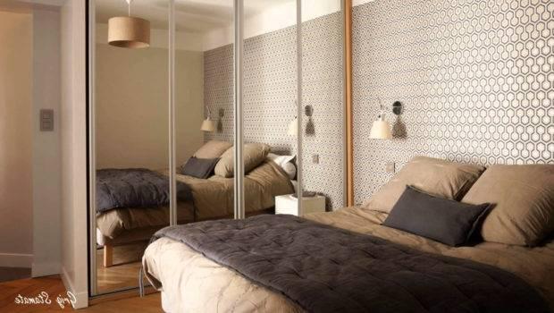 Wardrobe Designs Small Bedroom Mirror Home Combo