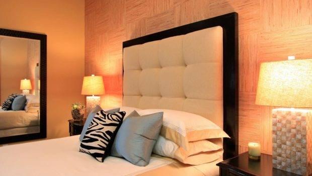 Warm Neutral Headboards Bedrooms Bedroom Decorating Ideas Hgtv