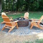 Watch Install Fire Pit Feature Seating Wall Walkway
