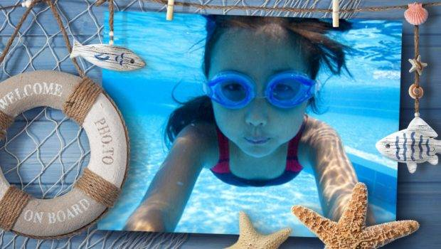 Way Adorn Your Sea Vacation Nautical Frame