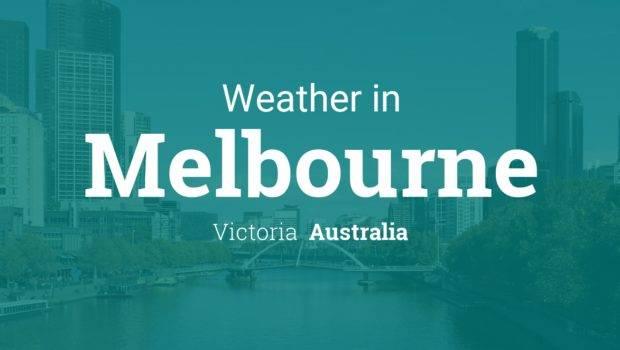Weather Melbourne Victoria Australia