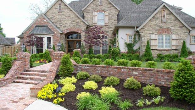 Well Landscaped Yard Creates Curb Appeal Helps Your Property