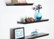 Welland Dover Floating Wall Shelves Wood Book Shelf