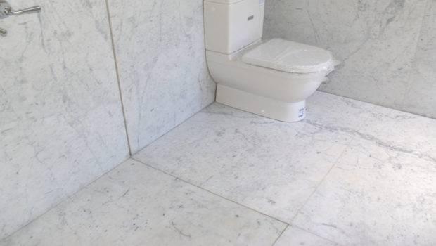 White Carrara Honned Marble Bathroom Baltic Stonemason Professionals