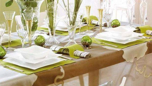 White Christmas Table Decorations Ideas Good