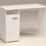 White Computer Desk Drawers Office Furniture