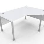 White Corner Desk Icwc
