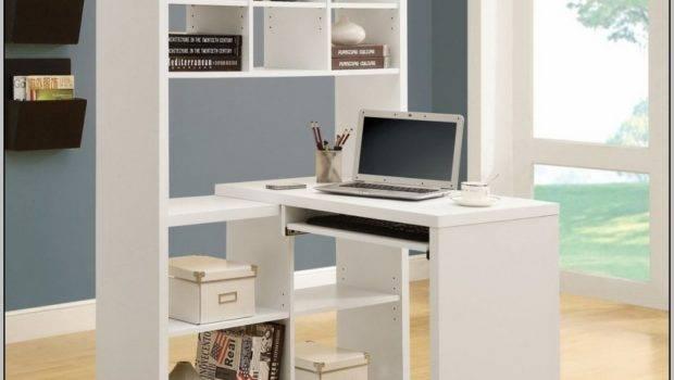 White Corner Desks Small Spaces Desk Home