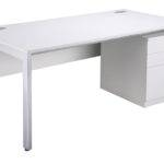 White Desk Office Furniture Solutions