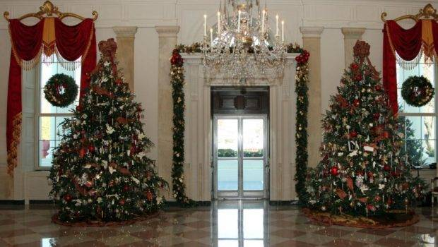 White House Christmas Decorating America First