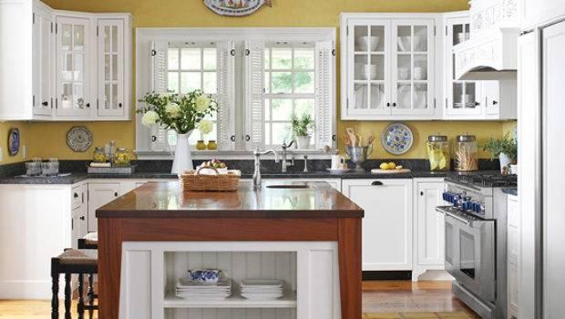 White Kitchen Cabinets Decorating Design Ideas