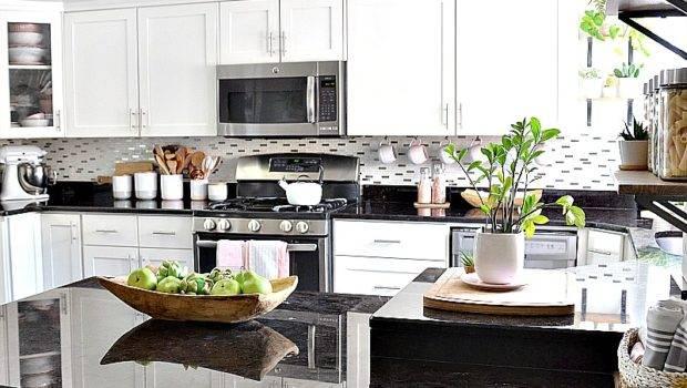 White Kitchen Pink Decor Avenue