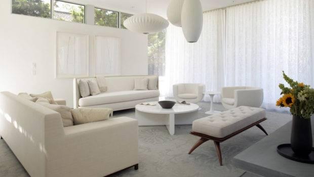 White Living Room Decorating Ideas Furniture Sofa Set