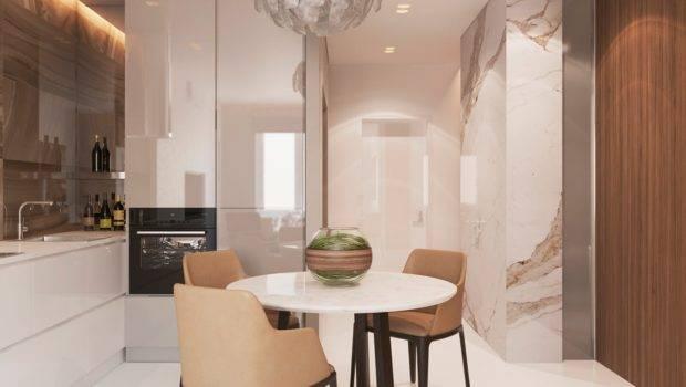 White Marble Bath Interior Design Ideas